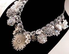 Winter+Faerie+Repurposed+Vintage+Jewelry+Statement+by+Modulation,+$120.00