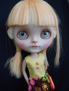 Custom Blythe Doll by Spookykidsworkshop on Etsy