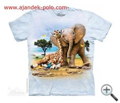 mountain tshirts kids and childrens youth tees with a giraffe and elephant best pals design. Zoo Animals, Animals For Kids, Elephant Zoo, Elephants, Giraffe, Best Pal, Sport, Printed Tees, Cotton Tee