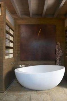 tub rustic