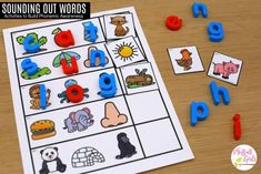 Have you ever heard the term phonemic awareness and wondered what it is? I get a lot of emails from parents who are ready to teach their child how to Teaching The Alphabet, Teaching Phonics, Phonics Lessons, Phonics Games, Teaching Strategies, Teaching Resources, Phonemic Awareness Activities, Phonological Awareness, Reading Fluency