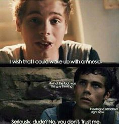 Hahahahahahahahahaha omg omg omg XD I SERIOUSLY LOLLED THE MAZE RUNNER X 5SOS XD