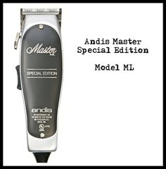 Andis Master Special Edition Model ML Andis Clippers, Model, Scale Model, Models, Template, Pattern, Mockup, Modeling