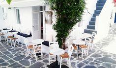 Μερικά εξαιρετικά Cafe στις Κυκλάδες - Distant Paros, Coffee Drinks, Outdoor Decor, Home Decor, Decoration Home, Room Decor, Home Interior Design, Home Decoration, Interior Design