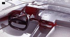 Car Interior Sketch, Car Interior Design, Car Design Sketch, Interior Rendering, Interior Concept, Car Sketch, Automotive Design, Industrial Design Sketch, Transportation Design