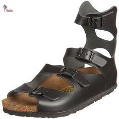 Birkenstock Athen 32191, Sandales mixte adulte - Noir, 40 (normal) EU - Chaussures birkenstock (*Partner-Link)