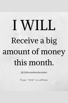 You're About to Receive a True Financial Blessing Real Money You Can Withdraw … Wealth Affirmations, Morning Affirmations, Positive Affirmations, Manifestation Law Of Attraction, Law Of Attraction Affirmations, Positive Vibes, Positive Quotes, Staying Positive, Secret Law Of Attraction