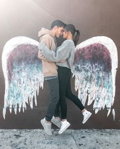 Love couple with wing - love images cute relationship goals, marriage goals, Relationship Goals Pictures, Couple Relationship, Cute Relationships, Cute Couple Pictures, Love Couple, Couple Fotos, Romantic Couple Poses, Romantic Pics, Jess And Gabe