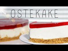 Hvordan lage NORSK OSTEKAKE - YouTube Cheesecake, Food, Cheesecakes, Essen, Meals, Yemek, Cherry Cheesecake Shooters, Eten