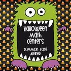 This set of 9 activities/math centers for Halloween is sure to put your students in the Halloween spririt AND sharpen their Common Core Math Skills. Aligned to Common Core Standards for 4th and 5th Grade. Priced Item