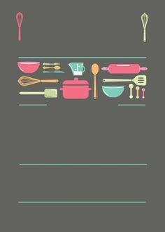 Free Business Card Templates, Business Card Design, Baking Logo Design, Recipe Book Templates, Makeup Stickers, Free Printable Banner, Restaurant Menu Design, Banner Letters, Girl Cooking
