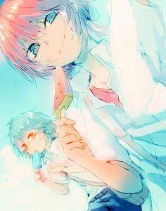 #anime #inazumaelevengo #kirino #ranmaru #kirinoranmaru #kariya #masaki #kariyamasaki ##ranmasa #blush #ashamed #shame #girl #boy #soccer #kirinoxkariya #masaran #raimon