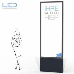 LED Leuchtkasten, Pylonen Aluminium, Madness, Safety Glass, Shop Signs, Light Fixtures