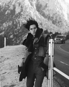 Cole Sprouse for Flaunt Magazine