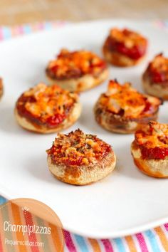 champiñones rellenos champipizzas