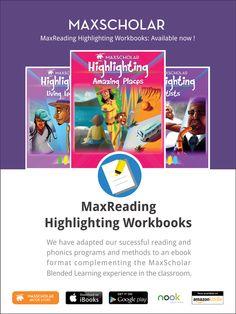 MaxScholar E-book to improve highlighting skills