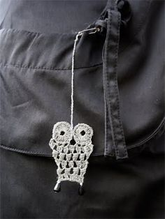Owls! Knit Crochet, Miniatures, Diy Crafts, Make It Yourself, Knitting, How To Make, Owls, Accessories, Crocheting