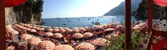 Panoramic view Bagni d'Arienzo Beach Club - Positano - Amalfi Coast
