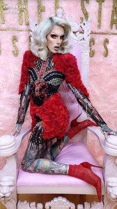 So cute and sexy Jeffree Star Snapchat, Jeffree Star Instagram, Rupaul, Jeffree Star Before, Jefferee Star, Drag Queen Outfits, Beauty Killer, Star Makeup, Makeup Eyes