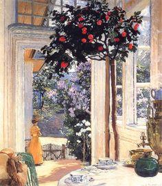 El sol de mayo - Jozef Mehoffer (1869 - 1946)