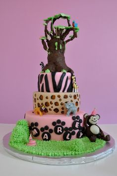 Jungle Cake (www.dlcakes.biz)