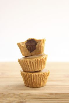 Inside Out Vegan Peanut Butter Cups With Avocado Fudge