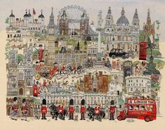 London from 1953.. Illustrated by Diane Elson.