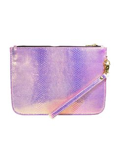 The Iridescent Clutch in Pink – NYLON SHOP
