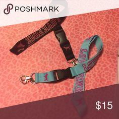 Bundle Brand new PINK Victoria's Secret Accessories Key & Card Holders