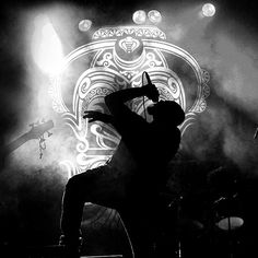 The Down Troddence live in concert #blackandwhite #concert