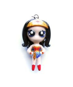 NEW  Wonder Woman  Miniature Sculpture  by WonderlandContraband, $28.00