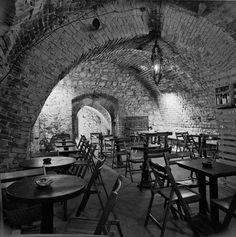 Bar de Cracovie (Galeria Krzysztofory) dans les années 70.