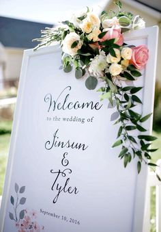 Welcome Wedding Sign Fall Wedding Muted fall colors