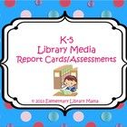 Hello fellow library media colleagues!  Even though my district does not formally assess elementary library media classes, I decided a couple of ye...