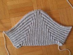 Zwergenmützchen :: Hellgrau Dwarf Hat, Big Knit Blanket, Jumbo Yarn, Big Knits, String Bag, How To Purl Knit, Knitted Bags, Cool Patterns, Baby Hats