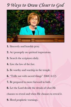 9 ways to draw closer to god