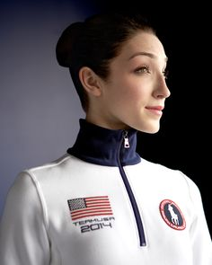 "Artist Reference |  ""The sophistication of Ralph Lauren clothing is something that helps one who wears such clothing to embody that feeling. Ralph Lauren's support and clothing helps me take pride in my work and embrace being a part of Team USA."" –Meryl Davis, Ralph Lauren Brand Ambassador"