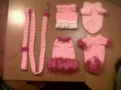 crocheted dog clothes