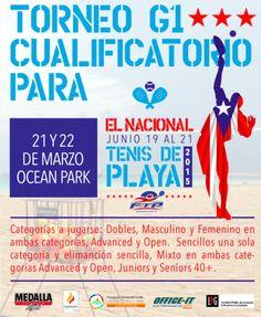 Torneo G1 de Tenis de Playa: Cualificatoria para el Nacional #sondeaquipr #tenisdeplaya #deportespr #oceanpark #sanjuan