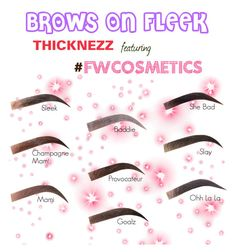 """""""Brows on Fleek 