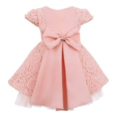 Your little munchkin will look cute in this fashion #dress for little girl from #Fashion #Playground. Huge range of formal and #casual #wear for boys and girls. Gift this dress to your tot on her birthday! Little Girl Dresses, Little Girls, Flower Girl Dresses, Casual Wear For Boys, Frocks For Babies, Made Clothing, Playground, Pink Dress, Latest Trends