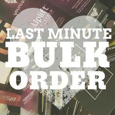 Last minute bulk orders younique.   Follow me for more younique graphics littlemissbossbabe