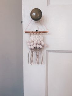 A personal favorite from my Etsy shop https://www.etsy.com/listing/267391871/handmade-mini-rose-and-copper-woven-wall