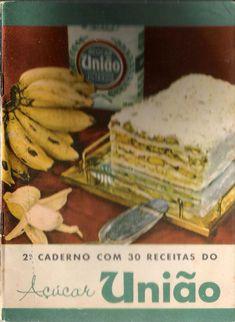 2º Caderno contendo as 30 receitas do Açúcar União