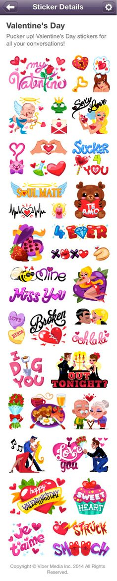 Happy Valentine'Z Day!!! Sticker Pack is out & Available on Viber's Sticker Market.  Share the LOVE by Tipping Here: https://www.paypal.com/webapps/mpp/send Enter: Info@miss-chatz.com & Ur Email + The Amount  Thank You - Spread the Love