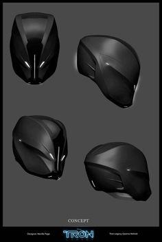 Tron quorra helmet