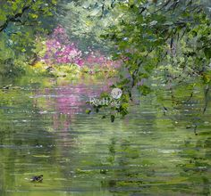 Mark PRESTON - Reflected Rhododendrons