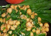 Cizrna s medvědím česnekem Black Eyed Peas, Sprouts, Potato Salad, Potatoes, Vegetarian, Vegetables, Ethnic Recipes, Food, Diet