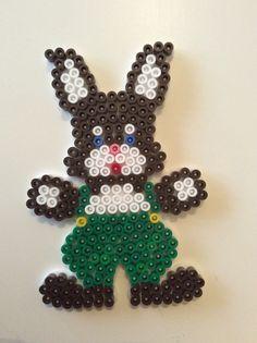 Easter Bunny, påskhandeln, hama pärlor