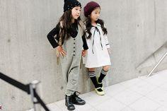seoul fashion week kids/ street style  Porque para la moda no hay edad. #Enfócate #E96